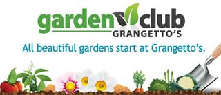 Grangetto's Garden Club - Banner